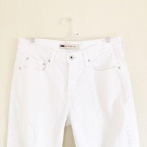 Levi's Jeans - 🌙 Levi's 505 Straight Leg Jeans Solid White 4M